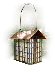 Woodlink Copper Top Double Suet Cage
