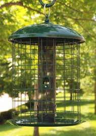 Woodlink Caged Squirrel Resistant Mesh Screen Feeder