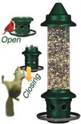 Brome Squirrel Buster Plus Squirrel Proof Bird Feeder 1024 & Brome Mini Finch Feeder 1055 and Locking Chain