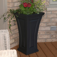Mayne Cambridge Tall Planter Black
