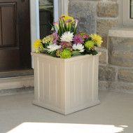 Mayne Cape Cod Patio Planter 16x16 Clay