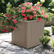 Mayne Cape Cod Patio Planter 20x20 Clay