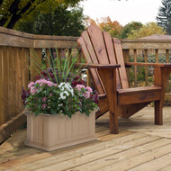 Mayne Cape Cod Patio Planter 24x11 Clay