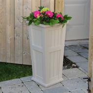 Mayne Cape Cod Tall Planter Clay