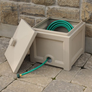 Mayne Fairfield Garden Hose Bin Clay