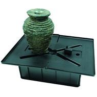 Aquascape Mini Stacked Slate Urn Fountain Kit