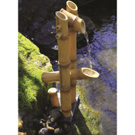 Aquascape Deer Scarer Bamboo Fountain w/pump
