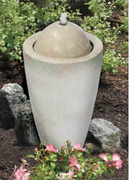 Aquascape Granite Transition Garden Fountain 78029 - Med 16.1x16.1x19.7H