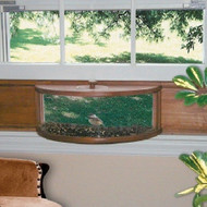 Coveside Panoramic In-House Window Bird Feeder without Mirrored Panel