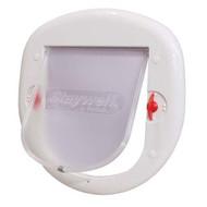 PetSafe 4 Way Big White Lock Cat Flap