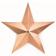 Good Directions Large Copper Star - Polished Copper 222C