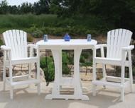Perfect Choice Furniture Bar Height Chair White OFCBH-WH