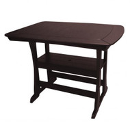 "Perfect Choice Furniture Bar Height Table 56"" Mocha OFTBHLG-M"