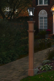 New England Arbors Charleston Lamp Post (Post Only) VA94433