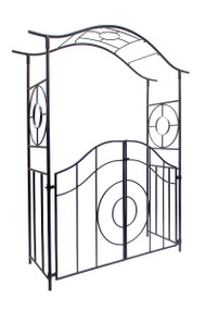 Achla Tuscany Arbor with Gate Decorative Arbor ARB-41
