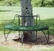 Achla Lutyen I Tree Bench Decorative Garden Bench AR-04