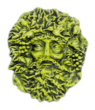 Achla Green Man Decorative Wall Statue DF-09