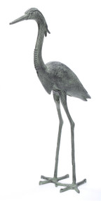 Achla Great Blue Heron Decoy Garden Statue HSB-02