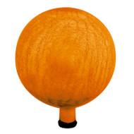 "Achla 12"" Gazing Globe Ball Mandarin Crackle G12-M-C"