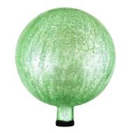 "Achla 12"" Gazing Globe Ball Light Green Crackle G12-LG-C"