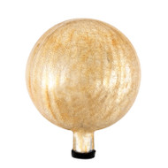 "Achla 10"" Gazing Globe Ball Apricot Ice Crackle G10-AP-C"
