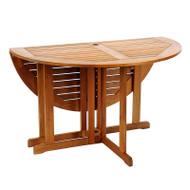 "Achla 48"" Round Folding Table   OFT-01"