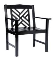 Achla Fretwork Arm Chair  OFC-10B