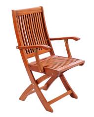 Achla Folding Chair w/ Arms  OFC-02