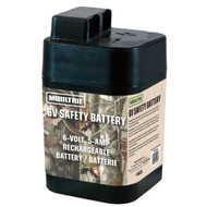 Moultrie 6 Volt Rechargeable Safety Battery for Automatic Deer Feeders SRB6