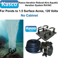 Kasco Aeration Robust-Aire Aquatic Aeration System RA1NC 120 Volt No Cabinet