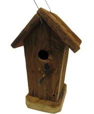 Bird-N-Hand Natural Wood The Corncrib Birdhouse Decorative Bird House RBH40