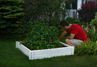 New England Arbors Hudson 4x4 Raised Garden Bed VA68237