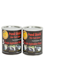 Pond Armor Pond Sheild Non-Toxic Epoxy Pond Liner & Sealer 3 Gallons Black, Competition Blue, Clear, Green, Gray, Tan and White Colors Free Shipping