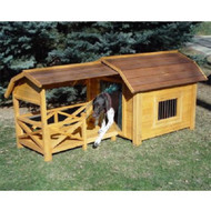 Merry Pet The Barn Wood Dog House Pet Shelter MPL001