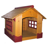 Merry Pet Ice Cream House Wood Dog House Pet Shelter MS001