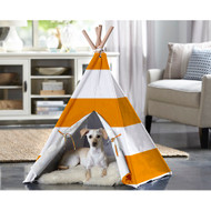 Merry Pet Cat Dog Pet Orange Stripe Large Teepee PTP0020202200