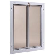 PlexiDor Performance Pet Door Dog Door PD DOOR XLARGE WH WHITE