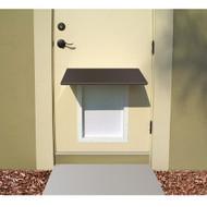 PlexiDor Performance Pet Door Dog Door AWNING LARGE/XLARGE BR BRONZE