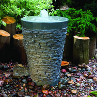 Aquascape Large Stacked Slate Fountain Complete Kit 58015