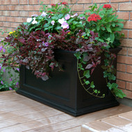 Mayne Fairfield 5825-B Patio Planter 20x30 Black