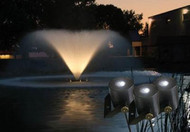 Kasco Marine Water Glow Fountain LED 6 Light Fixture Set 11 Watt With 250ft. Power Cord