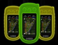 Garmin/Grain Valley GV Custom Alpha Cover - Glow in the Dark - Orange AlphaGlo-ORG