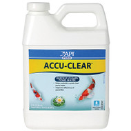 API Pond Care AccuClear 32 oz. Pond Water Clarifier 142 G