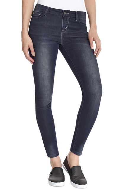 Wonder Mid Rise Skinny Jeans In Mason