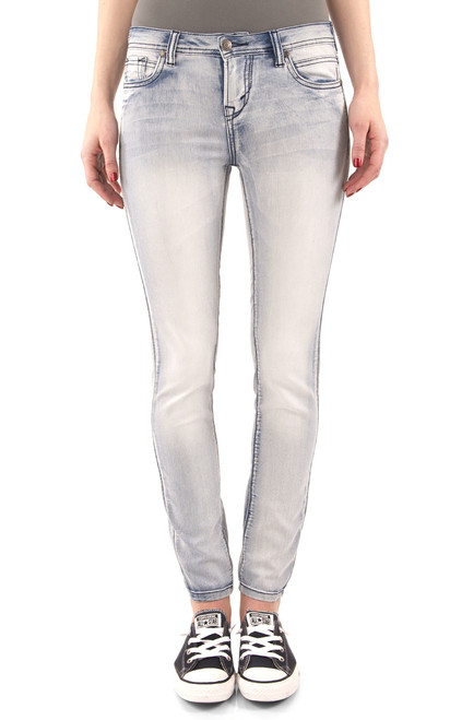 Ultra Luxe Skinny Jeans In Ivy