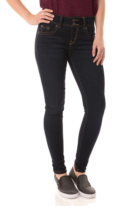 Ultra Luxe Skinny Jeans In Lake