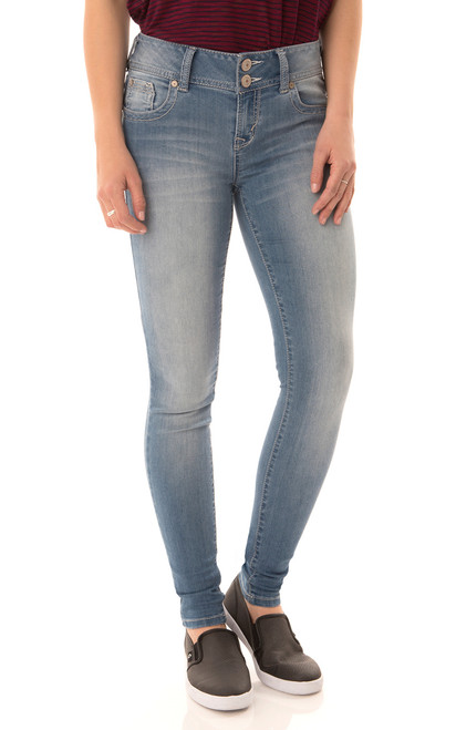 Insta Soft Ultra Luxe Skinny Jeans In Amal