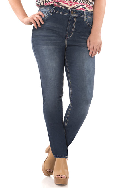 Long Inseam Plus Size Irresistible Jegging In Camila