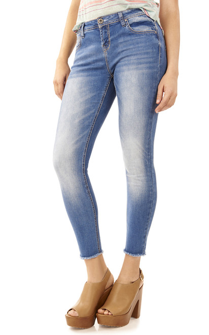 Insta Beauty Lycra Ankle Skinny Jeans In Brooke