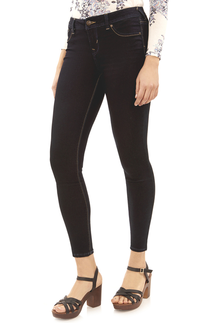 Sassy High Rise Skinny Jegging In Elle